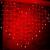 Instalatie de Craciun Perdea Inima 2x1.5m 78LED FI P 6009 Rosu
