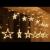 Instalatie Ghirlanda 12 Stele Luminoase Alb Cald  3x1m P FI