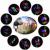 Laser Gradina Ext. Slideshow cu 10 Diapozitive Tematice RGB W551 XL717