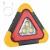 Triunghi Reflectorizant Auto 3xCOB LED Solar si USB HB7709