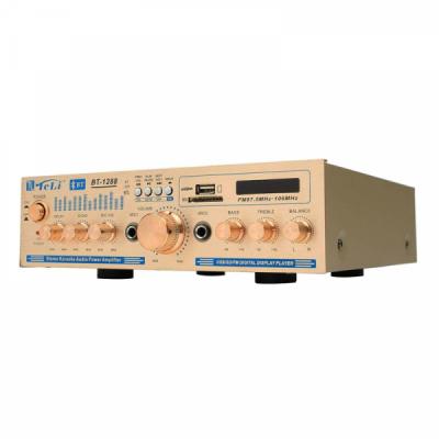 Amplificator Karaoke Bluetooth USB, suport SD, Telecomanda BT1288