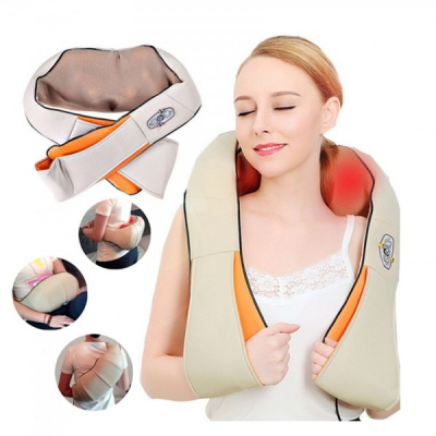 Aparat Masaj Cervical Infrarosu Massager of Neck Kneading Div.Culori