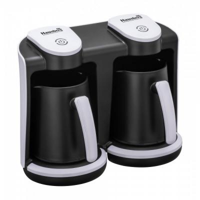 Aparat Electric Preparat Cafea Turceasca 2x400W Hausberg HB3820AB