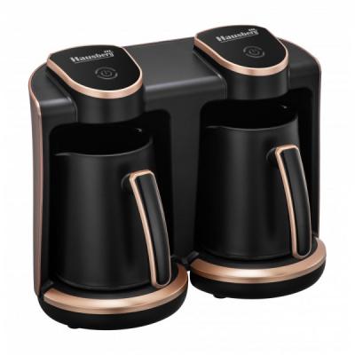 Aparat Electric Preparat Cafea Turceasca 2x400W Hausberg HB3820AU