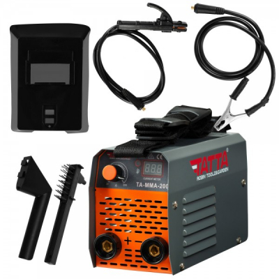 Aparat Sudura Invertor Electrod 1.6-3.2mm AC 220-240V Tatta TAMMA200