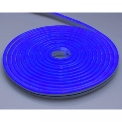 Banda LED Flexibil Neon Flex Decor 5m 12V Alim.Neinclusa Albastru