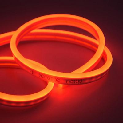 Banda LED Flexibil Neon Flex Decor 5m 12V Alim.Neinclusa Rosu NFLRE2835