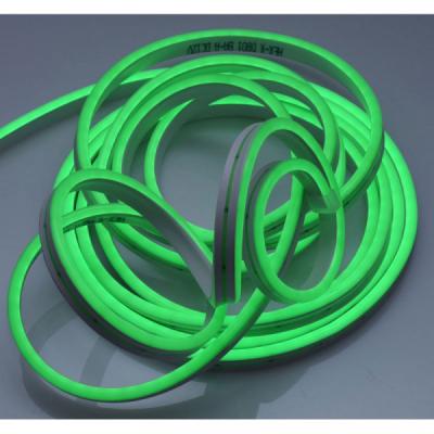 Banda LED Flexibil Neon Flex Decor 5m 12V Alim.Neinclusa Verde NFLGR2835