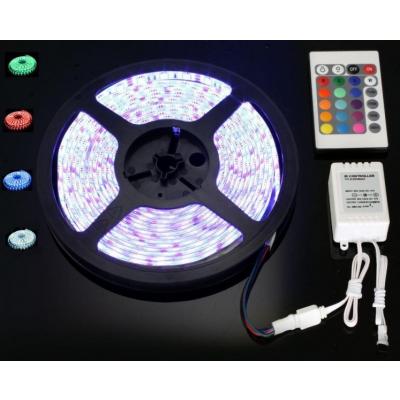 Banda Luminoasa 250 LED SMD 5050RGB 5m cu Telecomanda