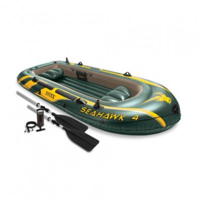 Barca Pneumatica Seahawk IV 4 persoane Intex 68351NP