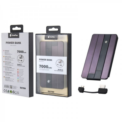 Baterie Acumulator Extern Power Bank 7000 One Plus D2789