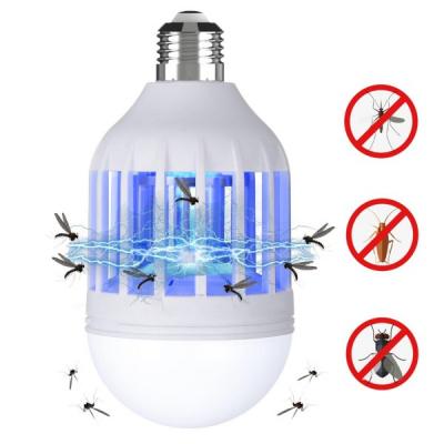Bec 2in1 cu Lampa UV Anti Insecte 250lm E27 Insect Zapper