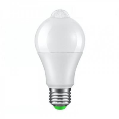 Bec cu LED si Senzor de Miscare E27 12W 810lm Alb Rece 6500K E27PIR12W
