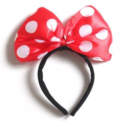 Set 12 x Bentita Minnie Mouse Rosie cu Jocuri de Lumini