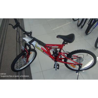 Bicicleta cu Suspensii Duble Best Laux DAF20