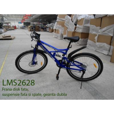 Bicicleta Jante Duble si Suspensii Fata Spate Best Laux LMS2628
