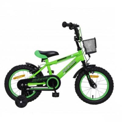 Bicicleta pentru Copii 14 Inch Splendor Verde SPL14V