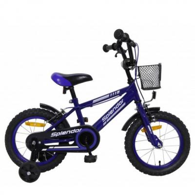 Bicicleta pentru Copii 16 Inch Splendor Albastru SPL16A