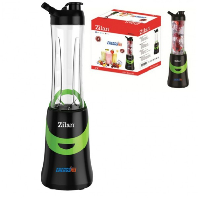 Blender cu Recipient Sport Portabil 600ml Zilan ZLN0511