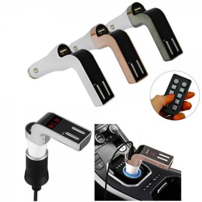 Bluetooth Car Kit Modulator FM, MP3 Player, Sloturi USB, 590