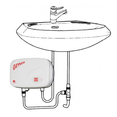 Boiler Instantaneu GEYSER IN LINE CHIUVETA