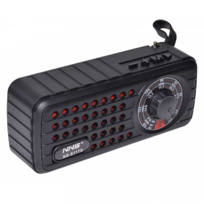 Boxa Portabila Incarcare Solara cu Bluetooth, Radio si USB MP3 S117S