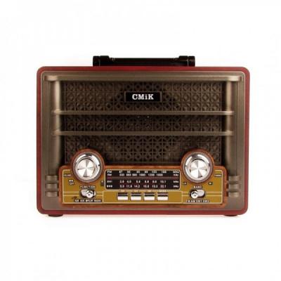 Boxa Retro cu Bluetooth, USB, Card Micro SD, Radio FM la USB MK191BT