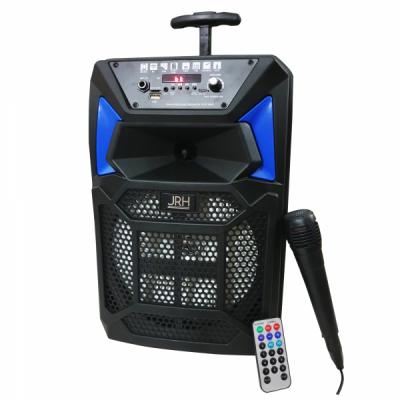 Boxa Troller Bluetooth Radio USB TF AUX Microfon Telecomanda JRH A88