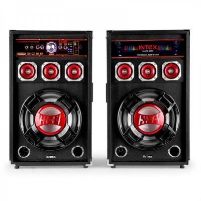 Boxe Active Bluetooth Radio USB Microfon Intex 120W DJ215K