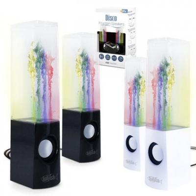 Boxe cu Apa Disco Fountain Speakers 2x4 LEDuri