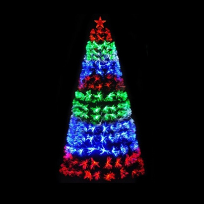 Brad Artificial Luminos cu Fibra Optica Jocuri Secventiale SM 3m