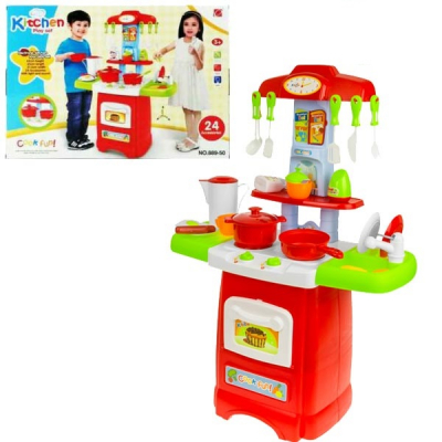 Bucatarie de jucarie multifunctionala Kitchen Play Set 88950