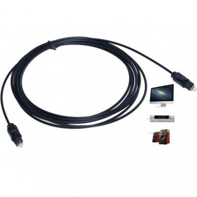 Cablu Audio Digital din Fibra Optica Tata-Tata 5m CABOPT500