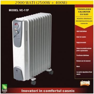 Calorifer cu ulei si ventilator Victronic VC11F