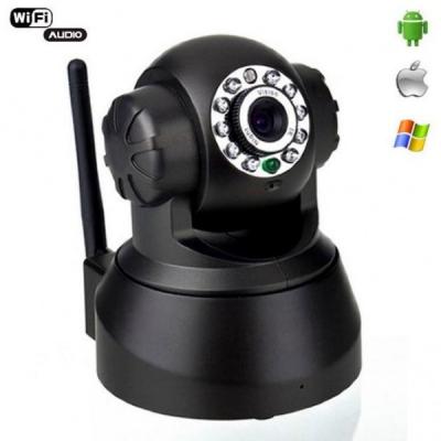 Camera Supraveghere Interior Wireless cu IP Pant/Tilt Slot Card TF KX501