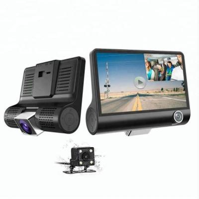 Camera Video Auto Tripla Fata, Spate, Interior, Ecran 4 inch G-Sensor