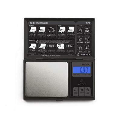 Cantar de Bijuterii Electronic Portabil 100g 0.01g Afisaj LCD MZ100