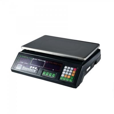 Cantar Electronic Comercial Digital Afisaj Rosu 30Kg Hausberg HB6050