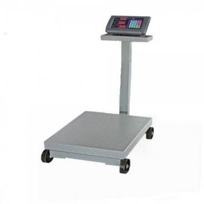 Cantar electronic Platforma 1000kg 1 tona pe roti cu Brat Rabatabil