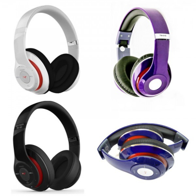 Casti Bluetooth Stereo tip Beats cu Radio si Microfon TM010S