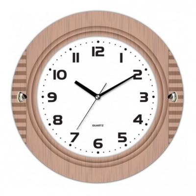 Ceas de perete cu aspect de Lemn KLJ7129