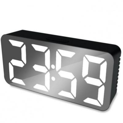Ceas Digital tip Oglinda Alimentare USB DS3622X LED Alb