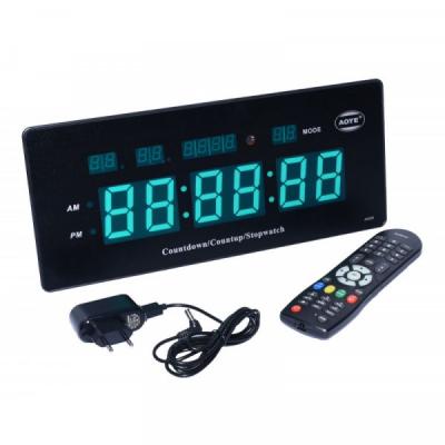 Ceas Electronic de Perete cu Cronometru Telecomanda 220V JH220V