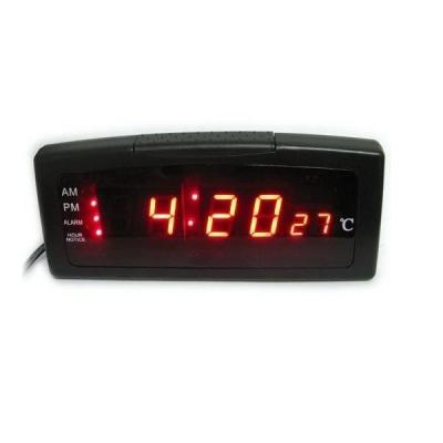 Ceas Electronic Digital cu Afisaj LED Alarma si Termometru ZXSJ05A