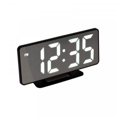 Ceas Oglinda Electronic cu Alarma, LED Alb, la USB VST888W