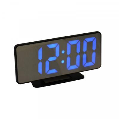 Ceas Oglinda Electronic cu Alarma, LED Albastru, la USB VST888B