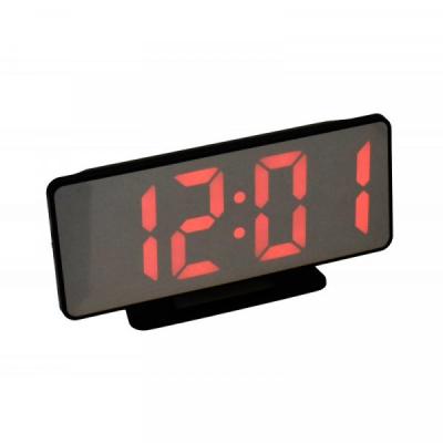 Ceas Oglinda Electronic cu Alarma, LED Rosu, la USB VST888R