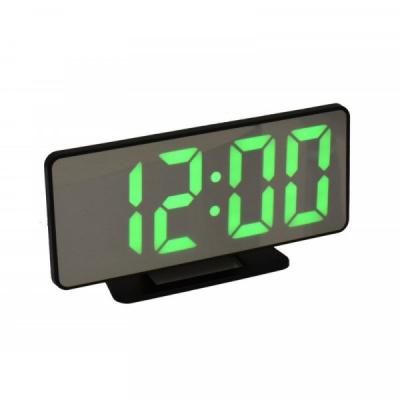 Ceas Oglinda Electronic cu Alarma, LED Verde, la USB VST888G