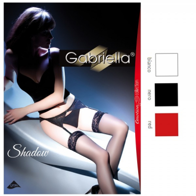 Compleu cu portjartier din dantela GabriellaShadow 15 DEN 220