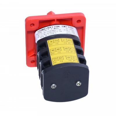Comutator Combinat cu Came 1-0-2 3 Perechi Contacte 10A 1.7kW M05